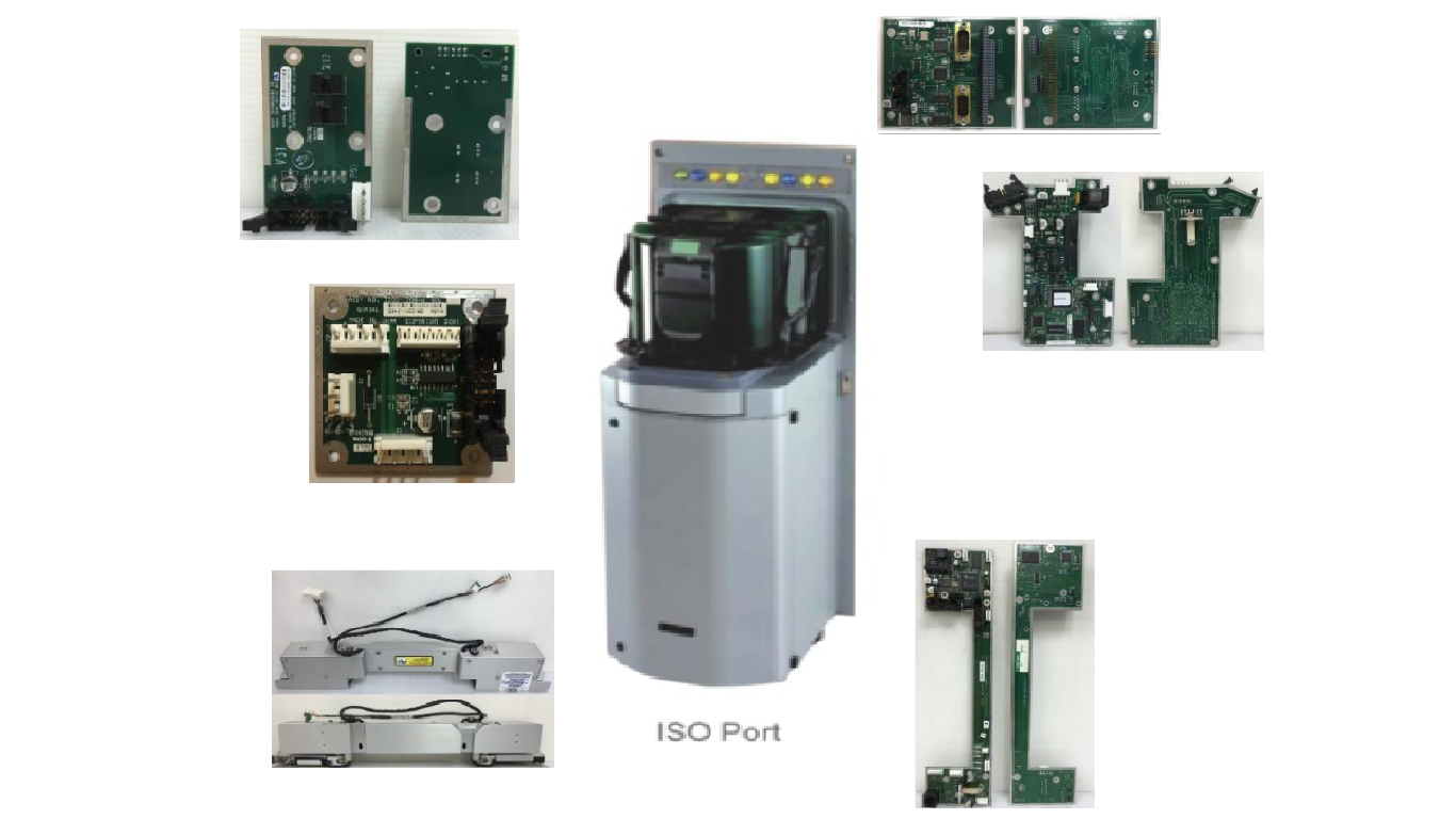 ISO port & ISO port all parts